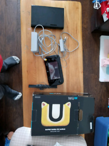 Wiiu 32gb with mario 3d world 200$ or with  15+ games