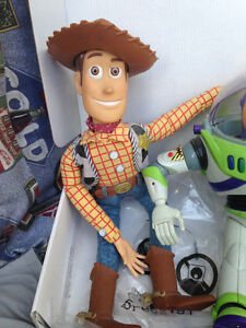 Four Toy Story Figurines