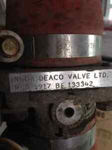 Positive air shut off (Roda Deaco Valve)
