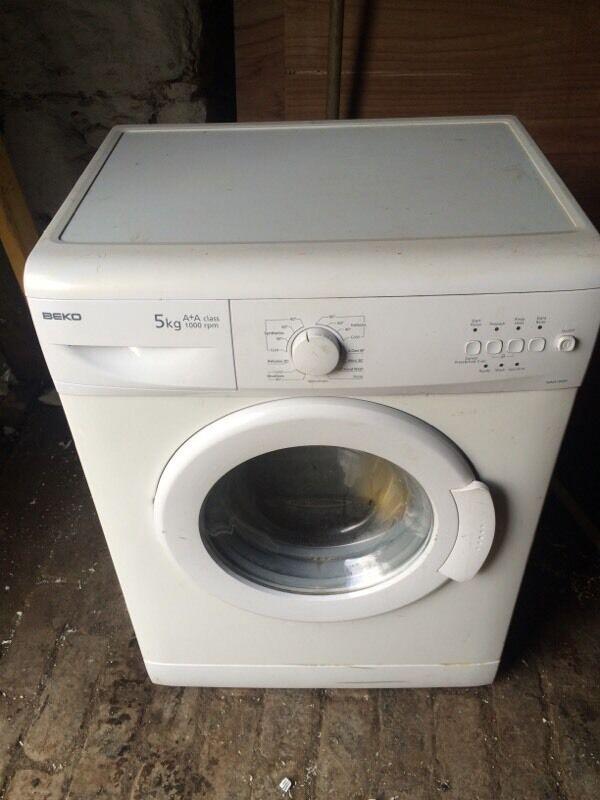 Beko Washing Machine Rrp 163 310 In Clarkston Glasgow
