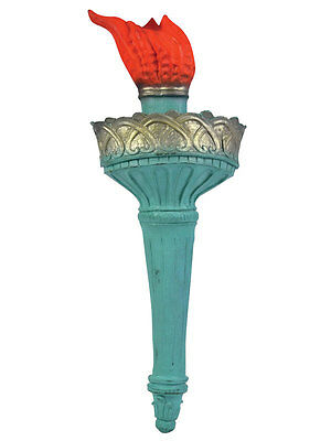 Statue Of Liberty American USA Handheld Torch New York Fancy Dress Accessory ()