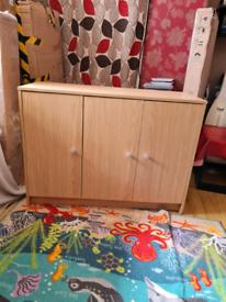 New unit oak colour £150