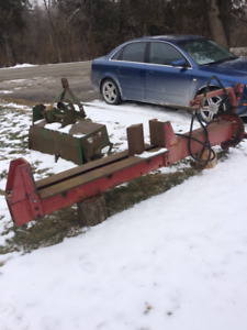 Log splitter  heavy duty