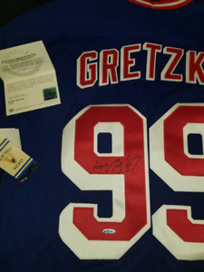 Wayne Gretzky Jersey 99 Collection Signer $$$1000$$$