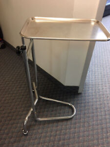 Steel Overbed Table