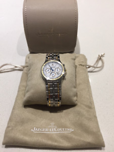 JAEGER LE COULTRE HERAION CHRONOGRAPH/ WATCH ONE OWNER