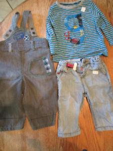 Vêtement de boutique bébé garçon de 6/9 mois et plus