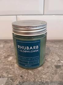 Jar Candle - Rhubarb & Elderflower NEW