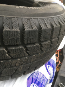 USED WINTER TIRES - 255/70R18, 112T w/ RIMS - ALL FOUR $700