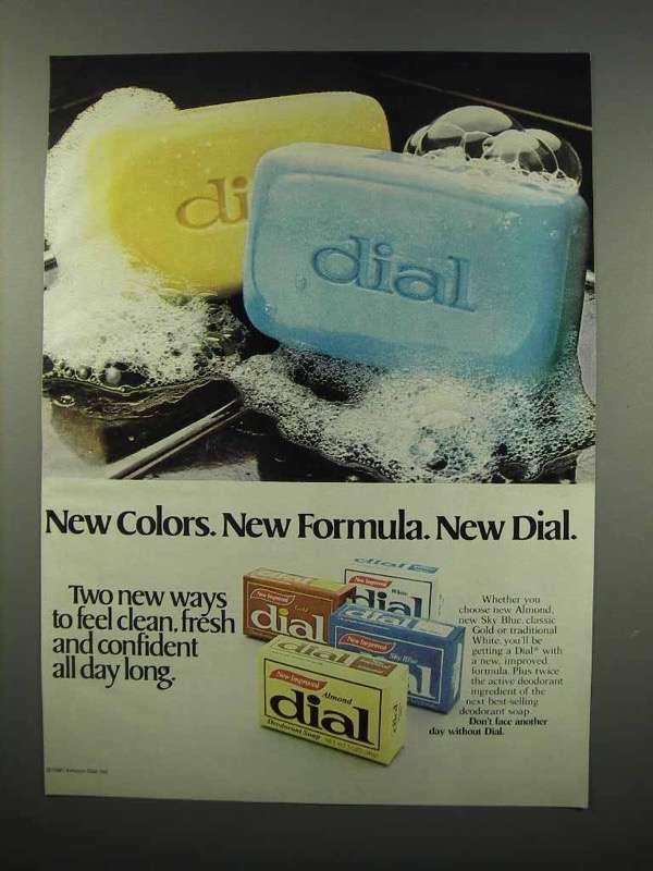 1980 Dial Soap Ad - New Colors New Formula