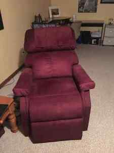 Lazy boy recliner with remote