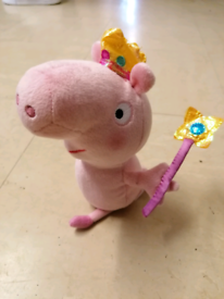 Peppa pig soft toy hardly played with