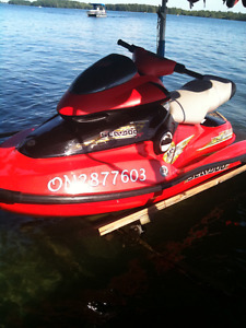 Seadoo XPDI with trailer