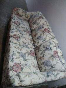 Beautiful Flower Couch and Chair free delivery