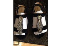 Gypsy wedge sandal