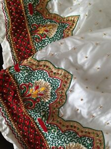 Beaded Ethnic Skirt, perfect as a costume or to repurpose