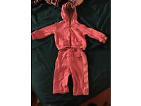 6-9 month Baby girls converse tracksuit