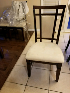Kitchen Table Dining matching dining chairs gorgeous dark wood