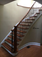 Special offer on Stairs and many more 647-237-5413