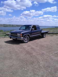 90's chevy flat bed