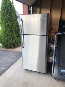 Frigidaire Stainless Steel Fridge For Sale