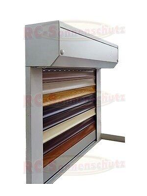 Aluminium Rollladen Rolladen mit PVC- oder Alu-Lamellen in weiss,grau,braun ect.