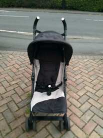Silver Cross Pop pushchair in good used condition