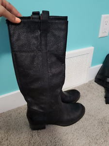 Genuine Leather Lucky Brand Boots Size 8- Worn only once