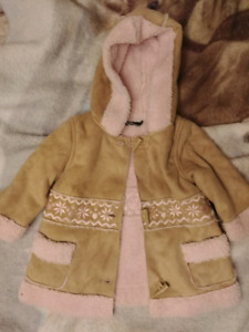 George Girls Coat Size 12/18 Months