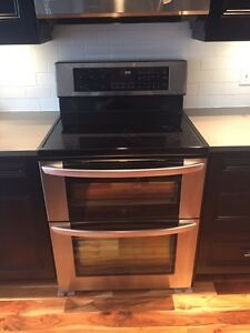 LG Double oven for sale