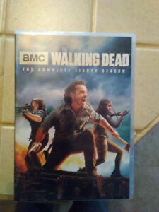 DVD walking dead season 8 anglais seulement 40$