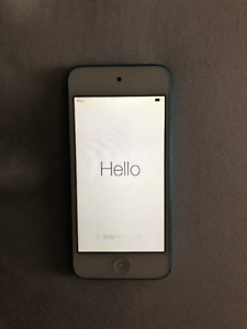IPod Touch 5 32GB Blue Good condition no cracks $100.00