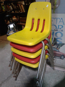 VIRCO MARTEST VINTAGE CHAIRS