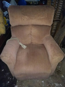 Pride mobility recliner lift chair