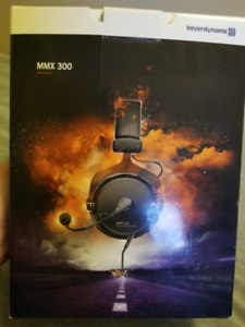 Beyerynamic MMX 300 Audiophile Gaming Headphones NEW IN BOX