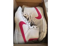 Ladies Nike high tops
