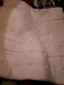 IKEA TROMSDALEN King Size Natural Cotton/Latex Mattress Topper