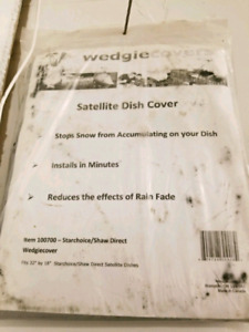 Shaw Satellite Dish Cover