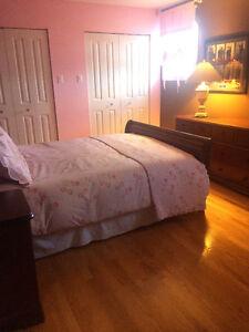 Bedroom Set - Bordeaux Color  - PERFECT CONDITION