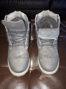Timberland Boys boots black/grey size 6