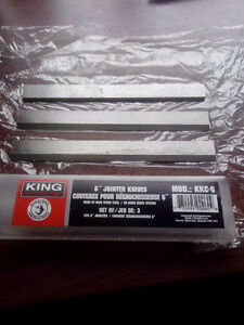 6 Inch King Industrial planer blades