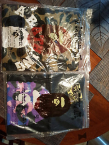 Two brand New Bape T shirts !!