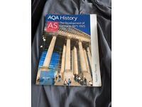 AQA History- A Level Books- Development of Germany