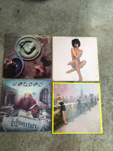 COLLECTION OF 1000+   VINYL RECORDS ROCK POP