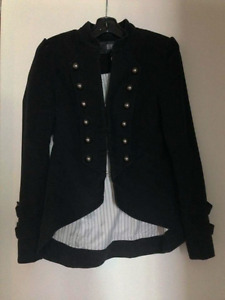 Perfect condition military style blazer