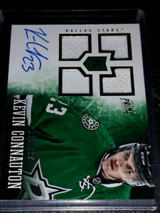 Kevin connauton autographed Jersey Hockey rookie card