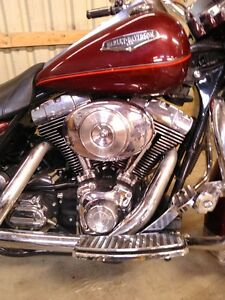 2002 HARLEY DAVIDSON ROAD KING W CLEAN TITLE COULD PART IT OUT Windsor Region Ontario image 5
