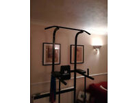 Brand New Hardcastle Power Tower - Chin ups station, Dip station, Pull up bar - Black