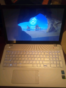 Hp envy 15 gamer laptop with gtx 4gb