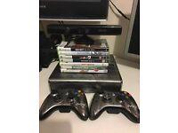 MW3 xbox 360 Slim 250GB 6 Games